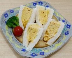 玉子サンド写真
