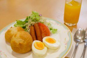 洋朝食の写真